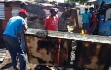 Emergency services have called on the residents to be cautious following a deadly shack fire. Picture: Reinart Toerien/EWN