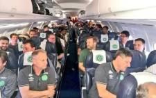 FILE: Brazilian football club Chapecoense. Picture: Twitter @AndresFelipe