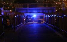 FILE: The Alexandra Police Station was turned into a crime scene after a constable was killed after killing his wife and three others after she opened a case of domestic violence against him on 3 June 2015. Picture: Reinart Toerien/EWN