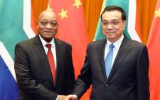 FILE: China's Prime Minister Li Keqiang (right), meeting President Jacob Zuma in this picture, will be one of the key speakers at the WEF meeting in Davos this month. Picture: GCIS.
