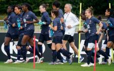France's players take part in a training session in Croissy-sur-Seine, near Paris on 6 June 2019, as part of the team's preparation on the eve of the opening match between France and Korea of the Fifa Women's football World Cup 2019 in France. Picture: AFP.