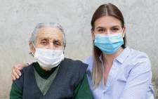 Woman women old young wearing surgical masks mask female 123rf 123rflifestyle