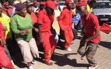 FILE: EFF supporters. Picture: Vumani Mkhize/EWN