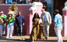 The Duke and Duchess of Sussex in Bo-Kaap, Cape Town on 24 September 2019. Picture: EWN