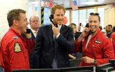 Prince Harry joins brokers on the trading floor at ICAP Charity Day on 7 December 2016 in support of his charity. Picture: @KensingtonRoyal.