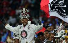 FILE: Orlando Pirates' supporters. Picture: AFP.