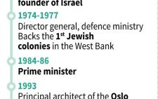 Key dates in the life of former Israeli leader Shimon Peres.