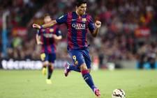 FILE: Barcelona's Luis Suarez on 18 August 2014. Picture: AFP.