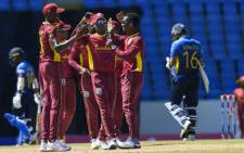 West Indies beat Sri Lanka by five wickets on 14 March 2021. Picture: @ICC/Twitter.