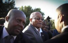 President Jacob Zuma attends an anti-crime Imbizo in Elsies River. Picture: Cindy Archillies/EWN