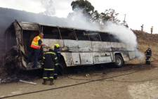 Paramedics earlier said two children were unaccounted for following a major bus accident in Warden. Picture: Facebook.