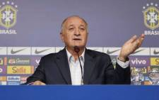 FILE: Brazil manager Luiz Felipe Scolari said his future had yet to be decided. Picture: Facebook.com
