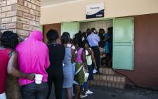 FILE: Illegal immigrants wait to be served at the Lindela Repatriation Centre in Krugersdorp, West of Johannesburg. Picture: Christa Eybers/EWN