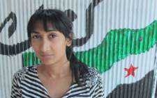 EWN reporter Rahima Essop in Syria.  Picture: Rahima Essop/EWN