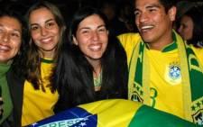 Brazil soccer fans. Picture: EWN.