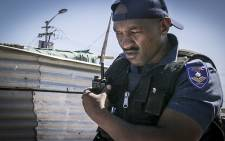Cape Town Metro Police Officer Sergeant Sandile Sololo. Picture: Thomas Holder/EWN