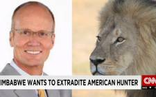 FILE: Zimbabwean officials sought to extradite American dentist Walter Palmer for killing Cecil the lion in July 2015. Picture: Supplied