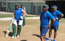 The Proteas women's cricket side during a training session on 11 September 2018. Picture: @OfficialCSA/Twitter