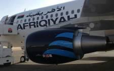 An Afriqiyah Airways plane. Picture: @AfriqiyahAAW/Twitter
