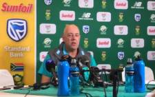 Cricket Australia head coach Darren Lehmann. Picture: Screengrab