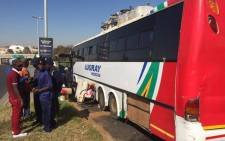 FILE: What was meant to be a two-day trip back home has resulted in a nightmare journey for 38 Malawian nationals who have been stuck for over a month in a broken bus on the East Rand. Picture: Vumani Mkhize/EWN.
