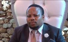Bapedi King Victor Thulare III. Picture: Screenshot.