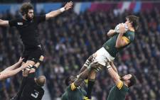 Springboks vs New Zealand in the Rugby World Cup semifinal at Twickenham on 24 October 2015. Picture: Rugby World Cup ‏@rugbyworldcup