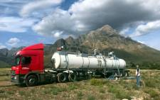 A view a Coca-Cola water truck in the Karoo on 19 December 2019. Picture: Supplied.