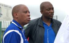 DA leader Maimane and Johannesburg Mayor Herman Mashaba visit various voting stations in Gauteng on 10 March 2018 to encourage residents to register to vote. Picture: @DA_GPL.
