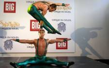FILE: Cirque du Soleil performers in South Africa in 2011. Picture: Johann Hattingh/SAPA.