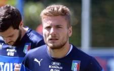 Italian striker Ciro Immobile. Picture: Facebook.com.