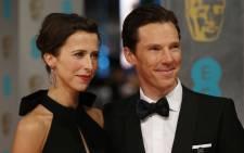 FILE: British actor Benedict Cumberbatch (R) and Sophie Hunter. Picture: AFP