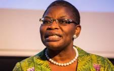 Former Nigerian minister Obiageli Ezekwesili. Picture: AFP.