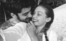 A selfie shows Gigi Hadid with Zayn Malik. Picture: instagram.com