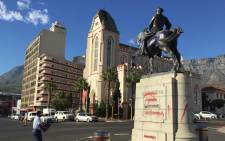 The Louis Botha statue in Cape Town. Picture: Thomas Holder/EWN