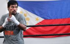 Filipino boxer Manny 'Pacman' Pacquiao. Picture: Official Manny Pacquiao Facebook Page.