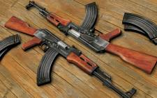 AK-47 assault rifles. Picture: Facebook.