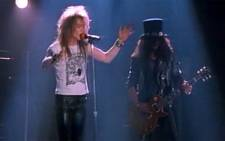 Guns n' Roses to reunite with original members for  Coachella music festival in California in April.Picture : Screengrab/CNN