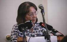 Outgoing Cape Town Mayor, Patricia de Lille was the keynote speaker at the Cape Town Press Club on Monday 29 October 2018. Picture: Cindy Archillies/EWN