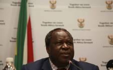 FILE: Finance Minister Tito Mboweni. Pictures: EWN