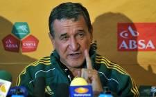 Former Bafana Bafana coach Carlos Alberto Parreira. Picture: Facebook.com.