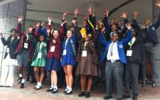 The top 25 achieving matrics in South Africa for 2013 celebrating their achievements at a breakfast held for them in Sandton on 6 january 2014. Picture: Reinart Toerien/EWN