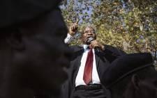 Former President Jacob Zuma outside the Pietermaritzburg on 23 May 2019. Picture: Sethembiso Zulu/EWN.