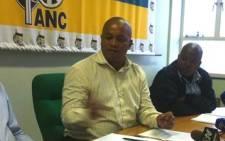 ANC Provincial Secretary Songezo Mjongile. Picture: EWN.