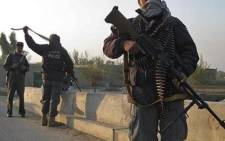 Afghan National Policemen. Picture: AFP