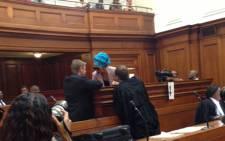 Convicted husband-killer Thandi Maqubela. Picture: Rahima Essop/EWN.