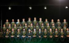 The Springbok team that will represent South Africa at the 2015 World Cup was announced in Durban on Friday.  Picture: Anthony Molyneaux/EWN