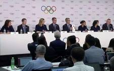 The City of Los Angeles' penultimate presentation to International Olympic Committee members before the 13 September vote to choose the host city. Picture: @Olympics