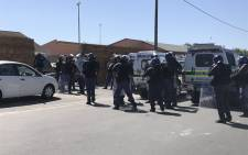 FILE: Philippi East police in the Western Cape. Picture: Monique Mortlock/EWN