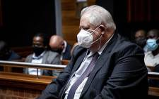FILE: Former Bosasa COO Angelo Agrizzi appears in the Palm Ridge Magistrates Court on 14 October 2020. Picture: Xanderleigh Dookey/EWN